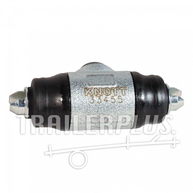 Remcilinder D25.40mm tbv Knott 250*40 wielrem Hydraulisch