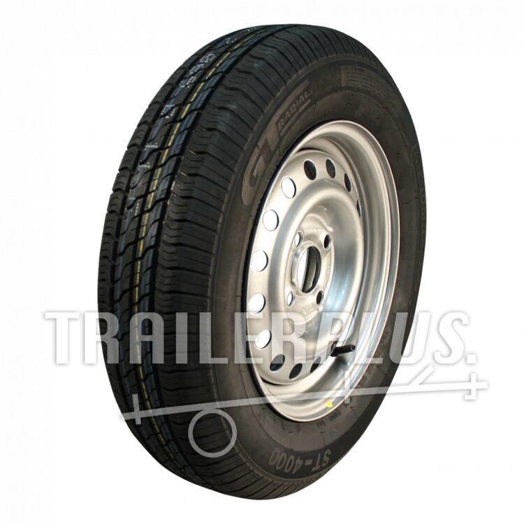 Wiel compleet, 155/80 R13 c GT Radial 4*100 NIEUW