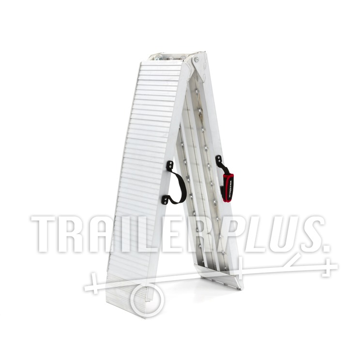 Oprijplaat opvouwbaar Aluminium 225cm 600kg