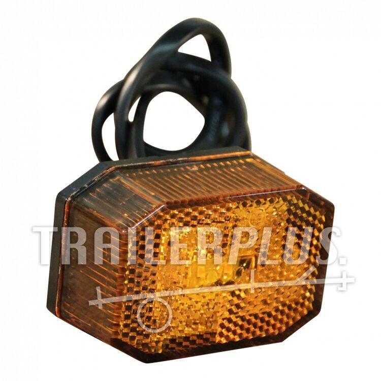 Zijmarkering Oranje Aspock Flexipoint LED 31-6309-050