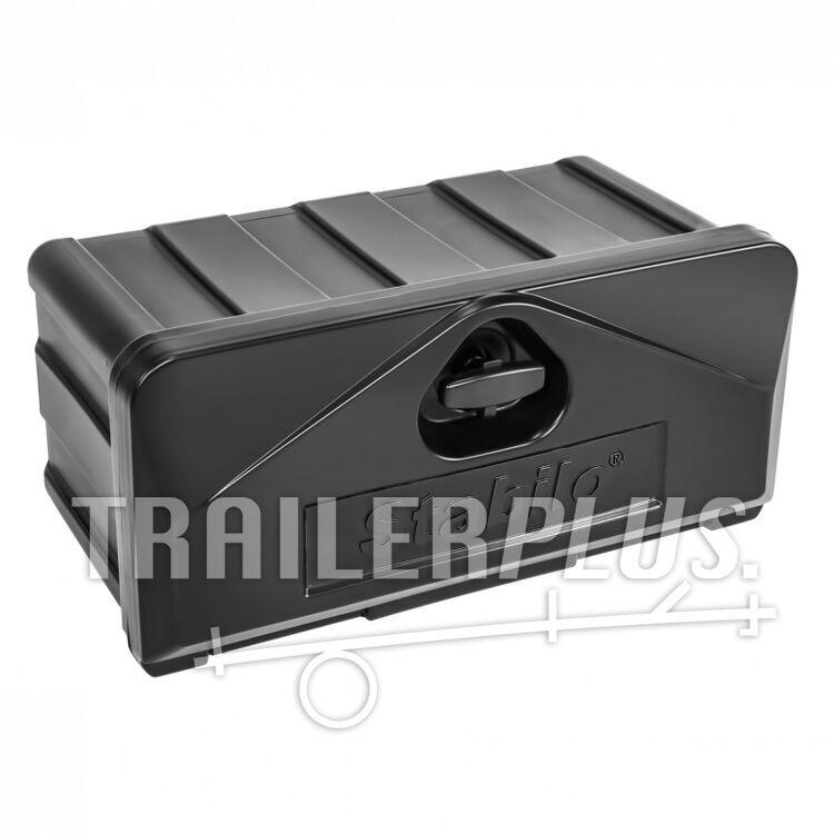 Disselbak opbergbox kunststof afsluitbaar Stabilo®-box 530x250x300mm