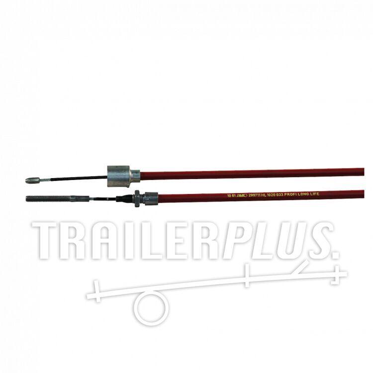 Remkabel met nippel AL-KO 1340mm 1130mm rood 299712