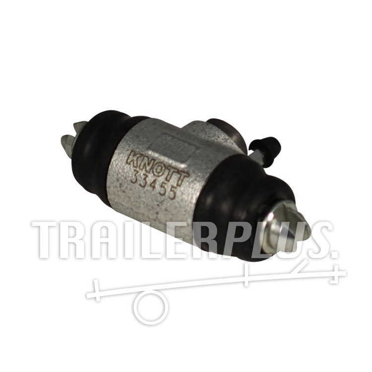 Remcilinder Knott Ø25,4mm wielrem 20-2710 ; 200x50 hydr.backmatic rechts