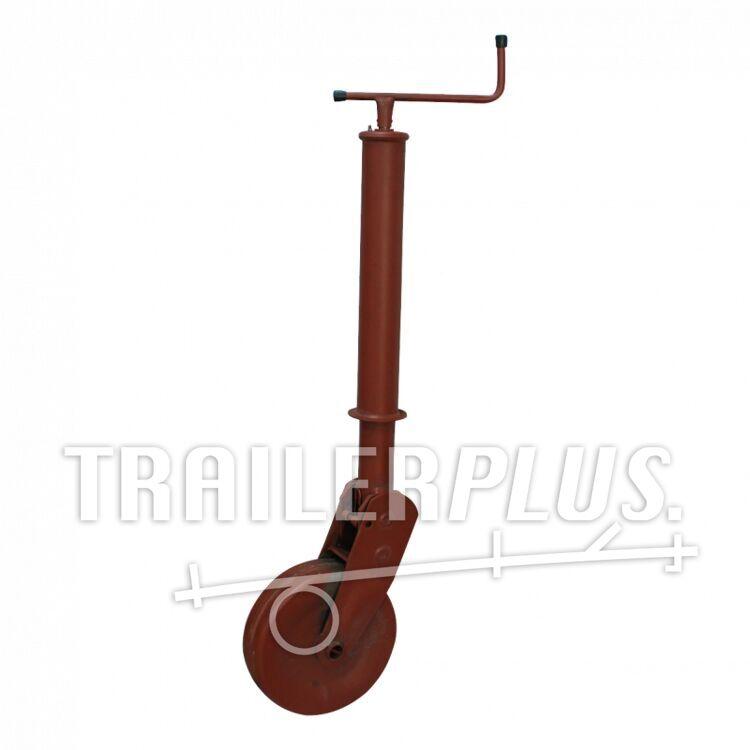 Steunwiel , automatisch opklapbaar en vergrendelbaar , Ø70 stalen wiel 1000 gemenied
