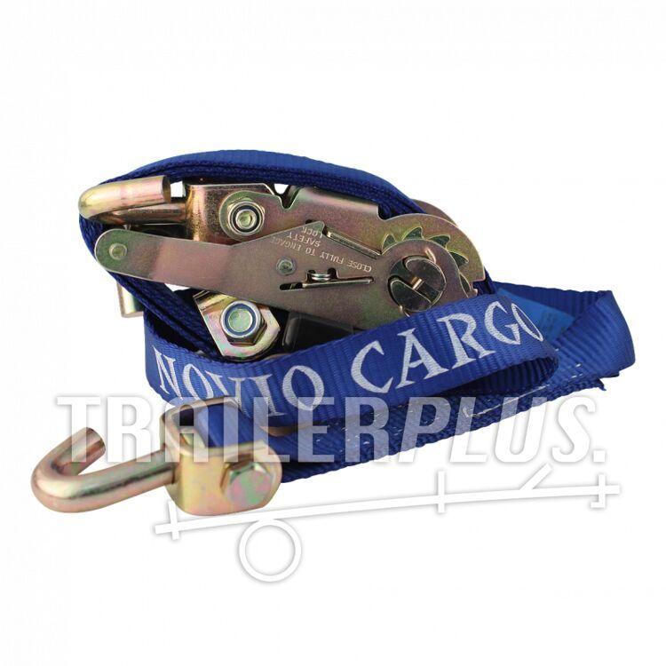 Spanband sjorband voor autotransporter blauw 35mm 2500mm Novio