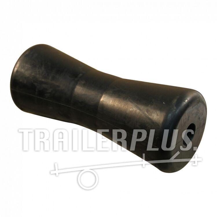 Kielrol rubber zwart Ø82mm 198mm Ø21mm