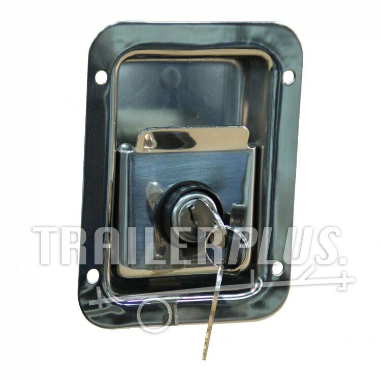 Kofferslot RVS zonder rubberen afdichting