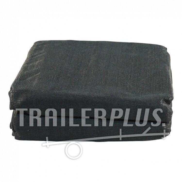 Gaaskleed fijnmazig 4500x2500 zwart incl. elastiek