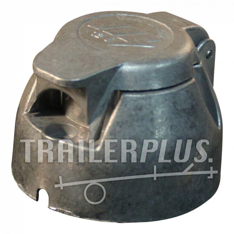 Stekkerdoos aluminium 7 - polig