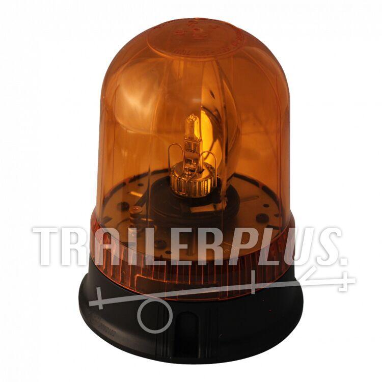 Zwaailamp halogeen lamp 12V55W oranje schroefbevestiging AjBa