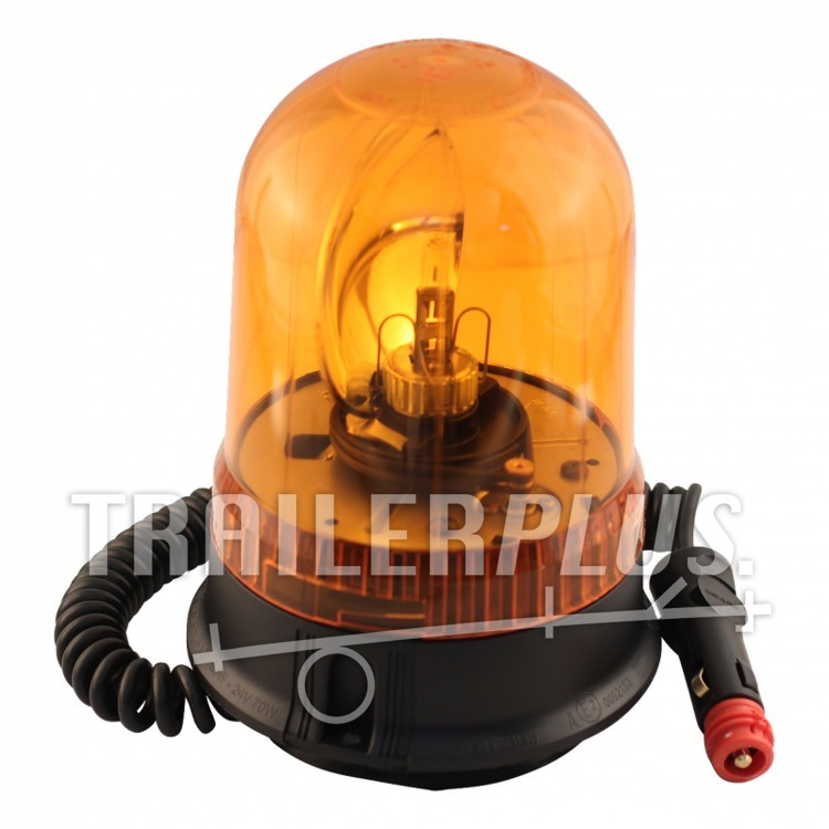 zwaailamp halogeen 12v 55w oranje magneetvoet ajba