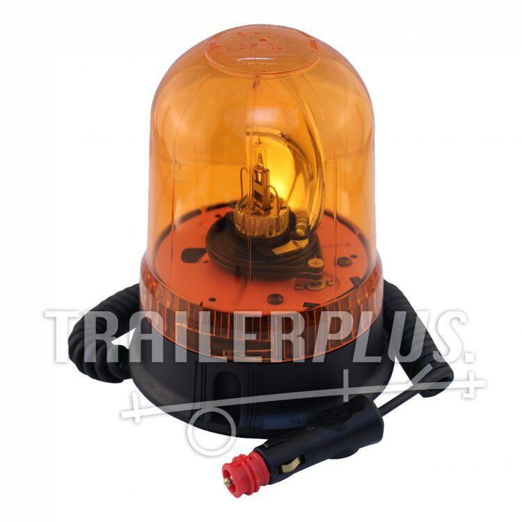 Zwaailamp halogeen lamp 24V70W oranje magneetvoet