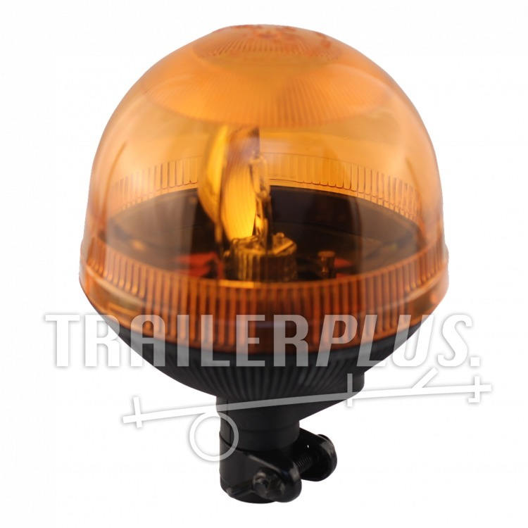 Zwaailamp halogeen lamp 12V 55W oranje steekbevestiging
