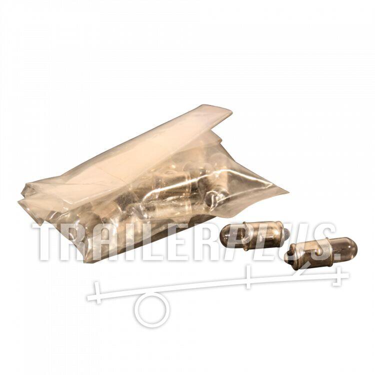 Insteeklamp dashboardlamp T-5 12V 1,2W 10 st.