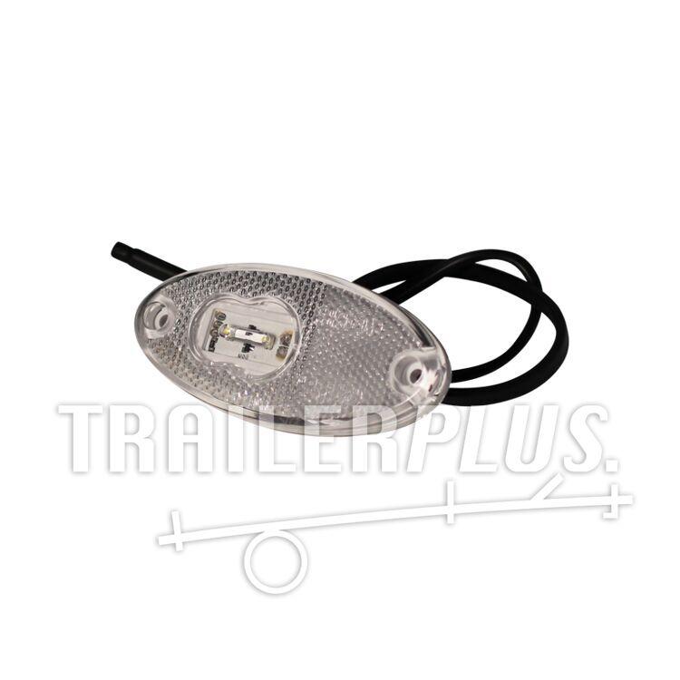 Breedtelicht toplicht WAS 309 , DC kabel 500mm. 2x0,75mm² LED