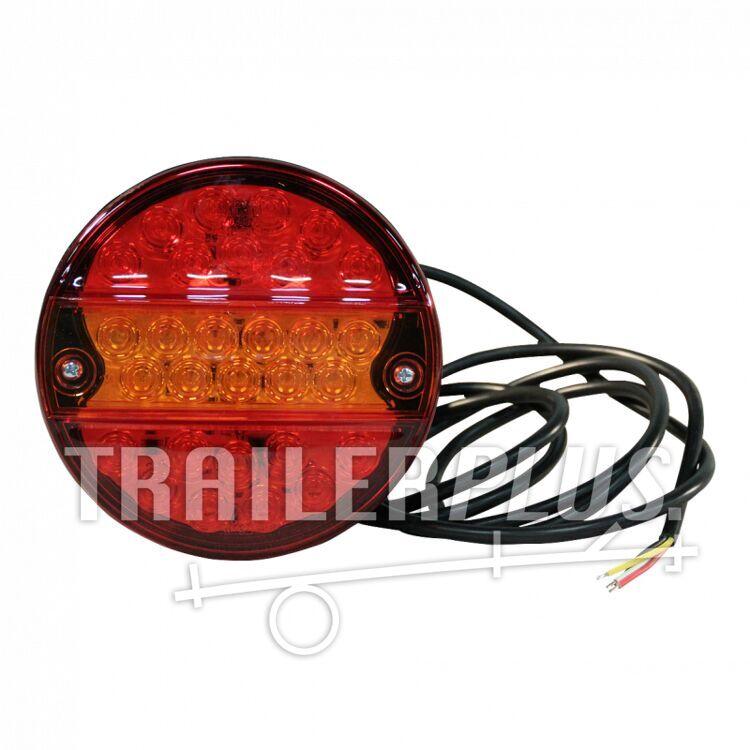Achterlicht WAS 288 , LED 12V-24V , links en rechts toepasbaar , kabel 2000mm  4 x 0,75mm²