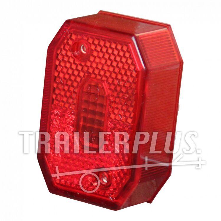 Lampglas Aspöck Flexipoint I rood