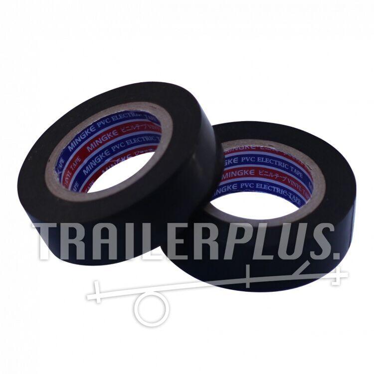 Isolatieband, zwart rollengte 20m, verpakt per 10 rollen