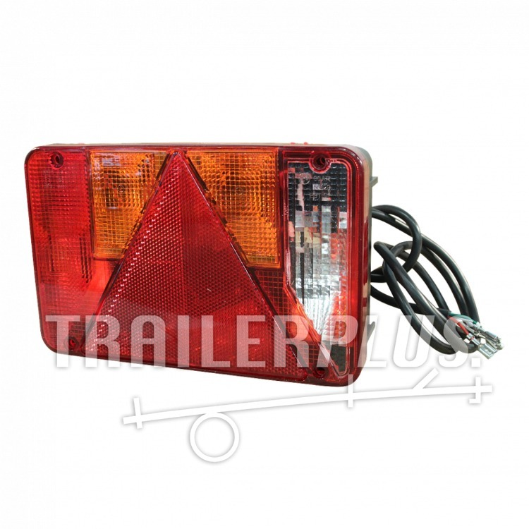 Verlichtingsset achterlichtset rechts met achteruitrijlamp Radex serie 5800 1500mm