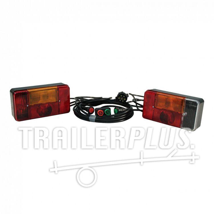 Verlichtingsset Radex serie 5001 7-polig 1500mm / 5000mm