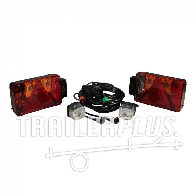Verlichtingsset Radex serie 5901 incl. markeringslampen 13-polig 7000mm 3000mm