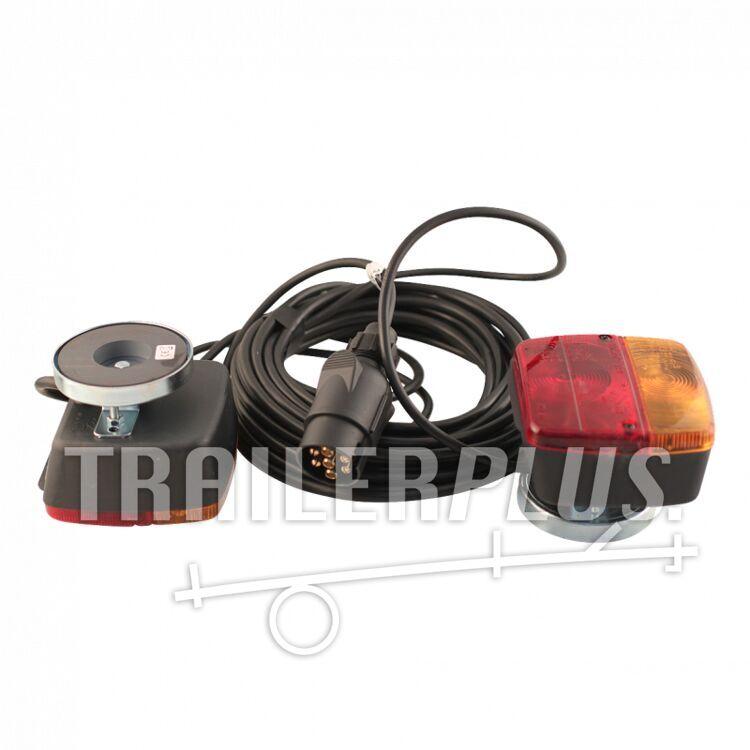 Verlichtingsset achterlichtset met magneten stekker 7-polig 250cm / 750cm