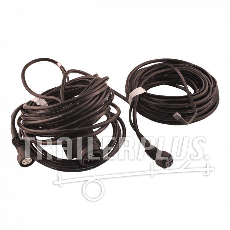Kabelset 13-polig met stekker 6.000 2 x bajonet 5-polig , vertakking 2x 4,5m DC ,
