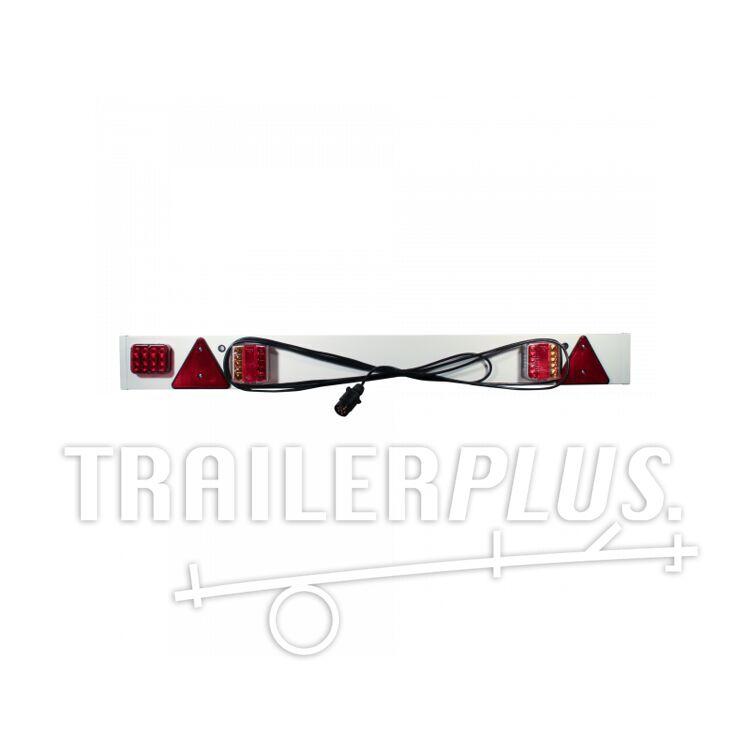 Lichtbalk LED kunststof 1,37m , kabellengte 6m , 7-polige stekker