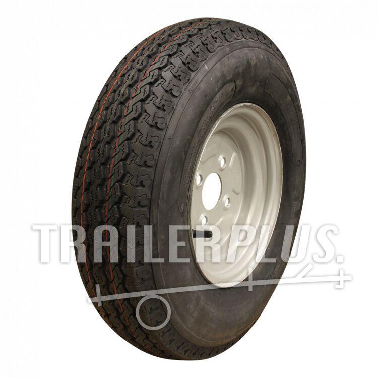 Compleet wiel 5.00-10 KT-715 6PR + 3.50Bx10H2 ET0 85/115/4 79 N staal, grijs, Franse steek