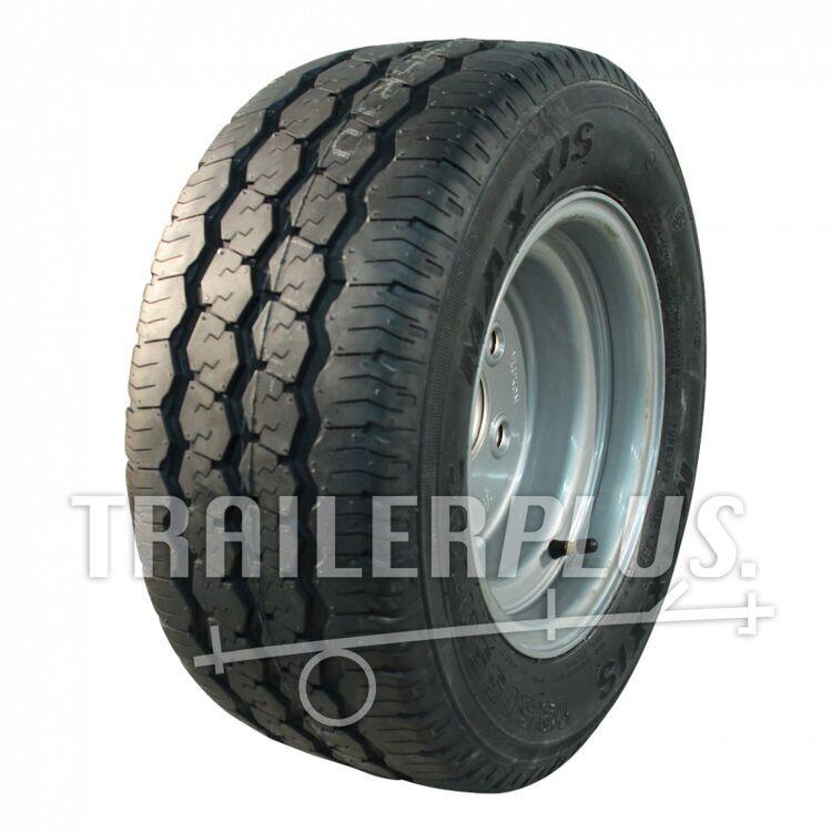 Compleet wiel, 195/55 R10C CR-966 + 6.00Ix10H2 ET-4 67/112/5 98/96 P staal, grijs,