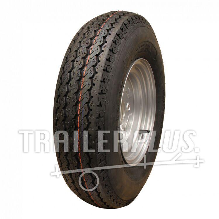 Compleet wiel, velg met band 4.00-10 KT-715 6PR + 3.50Bx10H2 ET0 60/100/4 71 N
