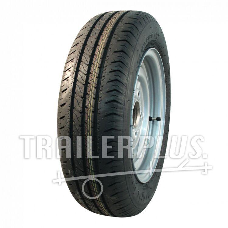 Compleet wiel 155/80 R13 FRT R701 M+S + 4Jx13H2 ET30 57/100/4 84 N staal, grijs,