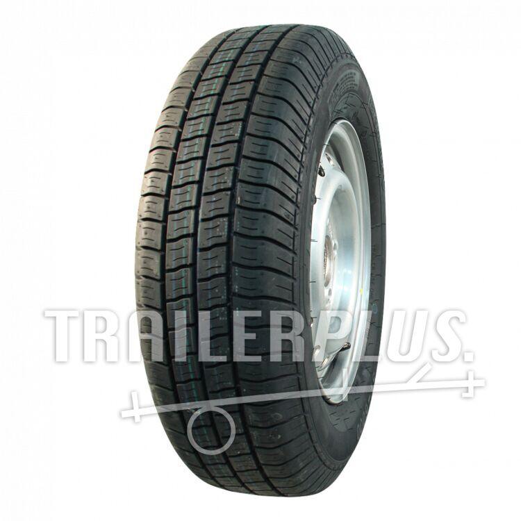 compleet wiel 195/70 R15C Kargomax ST-6000 M&S + 6Jx15H2 ET30 67/112/5 104/102 N staal, grijs,
