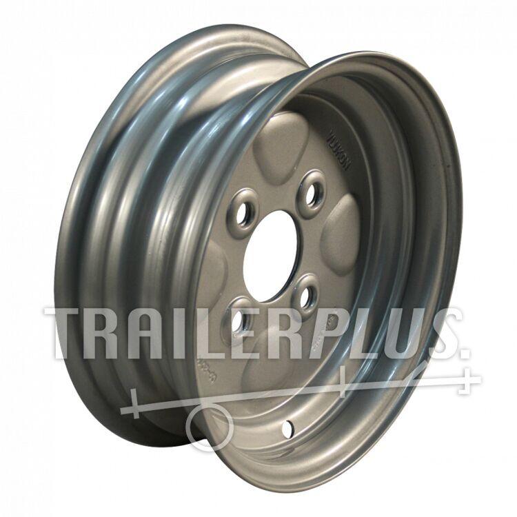 Velg 3.50Bx10H2 ET-2,5 60/100/4 staal, grijs,