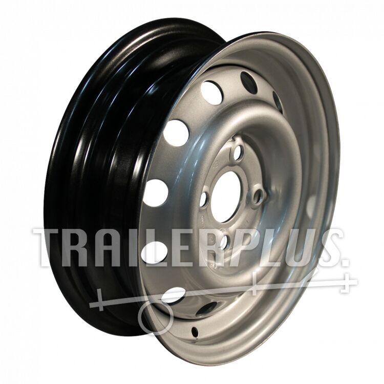 Velg 4Jx13H2 ET30 57/100/4 staal, grijs,