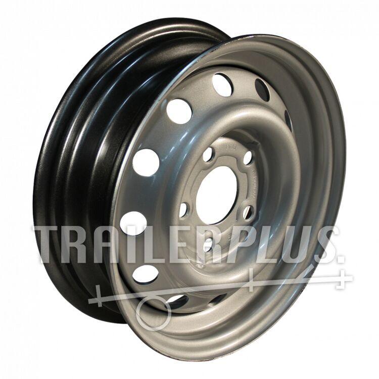 velg 4Jx13H2 ET30 66,5/112/5 staal, grijs,