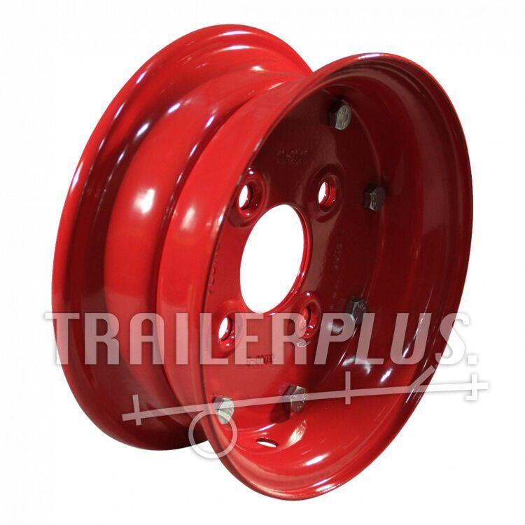 velg 3.00D-8 ET0 60/100/4 staal, rood,