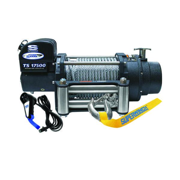 Electrische lier Superwinch Tiger Shark 17500 12V (7938kg) - 1517200