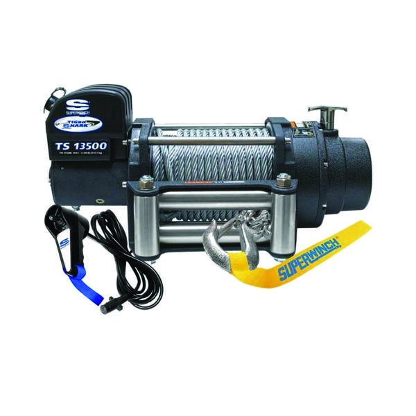 Electrische lier Superwinch Tiger Shark 13500 12V (6123kg) - 1513200