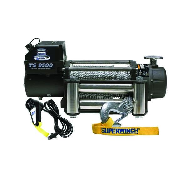 Electrische lier Superwinch Tiger Shark 9500 12V (4309kg)