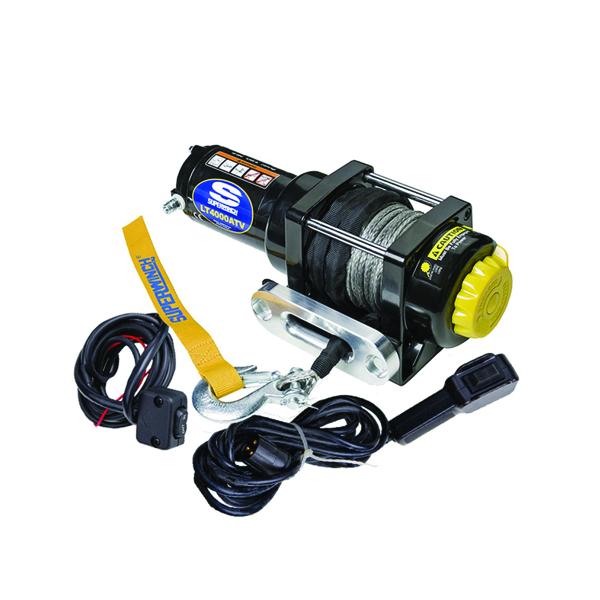 Electrische lier Superwinch LT 4000 ATV SR 12V (1814kg) - 1140230