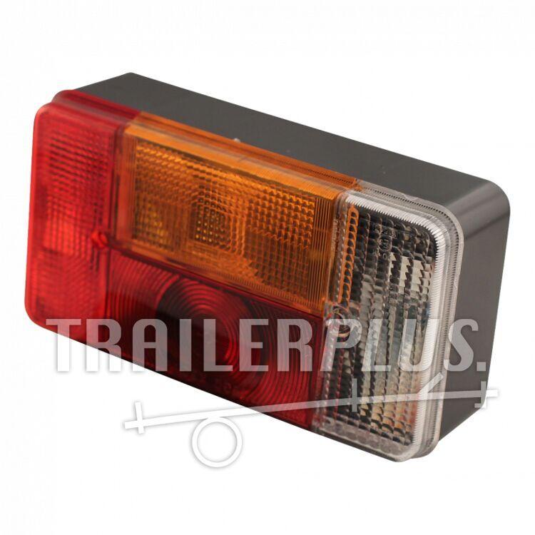 Achterlicht met achteruitrijlicht 194*104  Radex 5001- Rechts