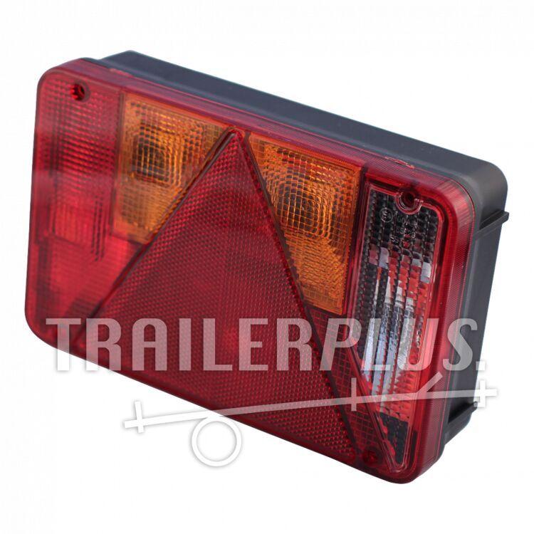 Achterlicht met driehoek en achteruitrijlamp Radex 5800- Rechts