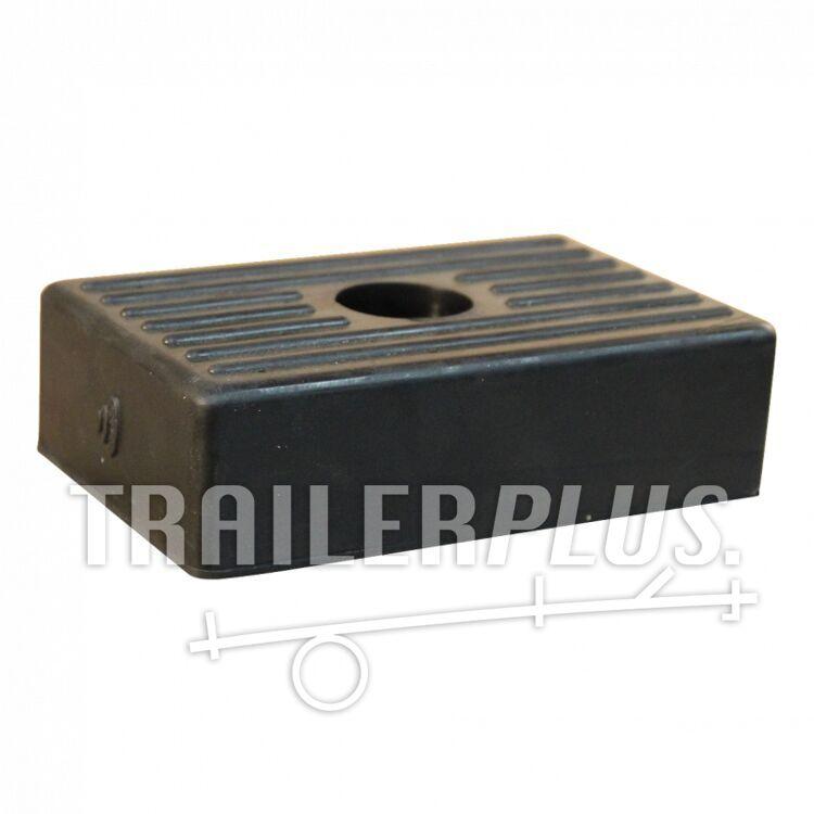 Bootkussen, rubber, zijsteun klein 120*100