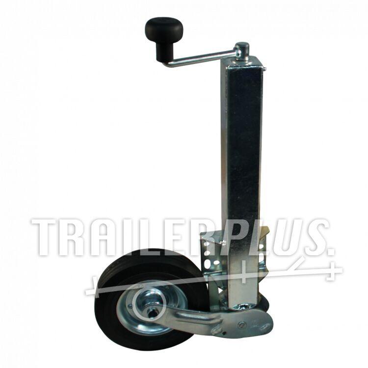 Neuswiel 60mm, automatisch opklapbaar VIERKANT 60 grote plaat