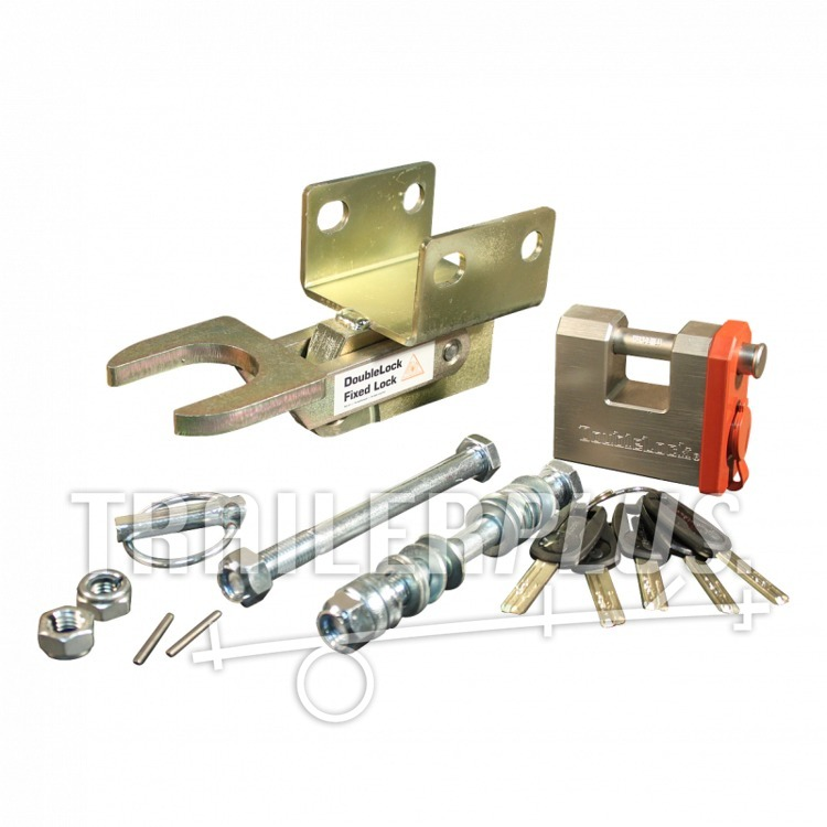 Disselslot, Scm Double Lock boutbaar horiz. type B35 MP030407 (025-014)