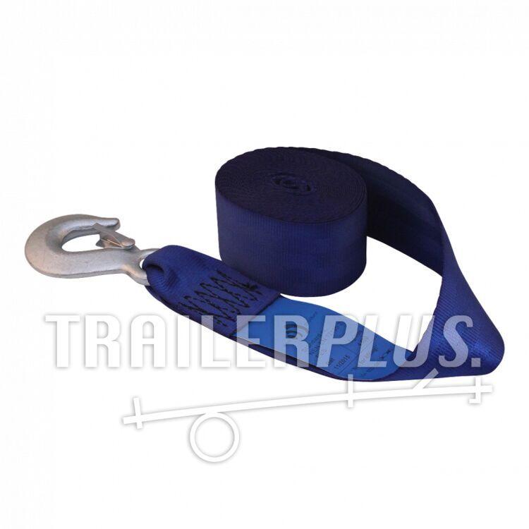 Lierband voor handlier/bootlier BLAUW 4.6m
