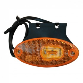 Zijmarkering oranje LED was 12-24V
