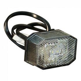 Breedtelamp Aspock Flexipoint wit LED