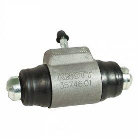 Remcilinder Knott Ø28,57mm wielrem 25-4066 ; 250x40 hydr.backmatic links